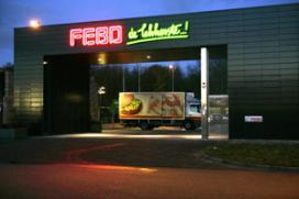 Overval op hoofdkantoor Febo