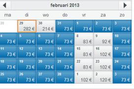 Boekingssite toont variabele prijzen hotels