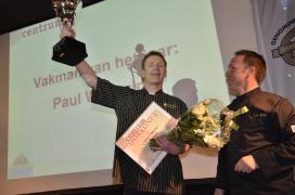 Paul Wilderink IJsvakman van het Jaar