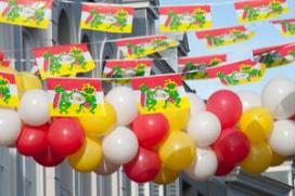 Grote brand in Maastricht vol carnavalsvierders