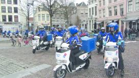 Domino's Pizza Utrecht overgestapt op elektrische scooters