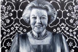 Beatrix-expositie in Hotel Pulitzer