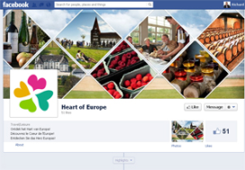 Euregionale culinaire promotie met Facebook