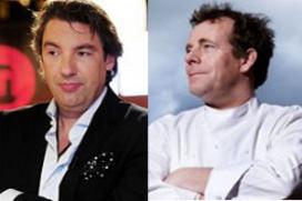 Blaauw en Van Wolde dj's en koks op festival
