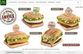Fransen massaal aan fastfood