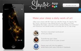 App maakt kunstwerk van slapende hotelgast bij Ibis