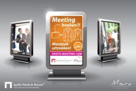 Sparen voor gratis maatpak bij Apollo Hotels & resorts