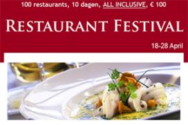 Nieuw initiatief: all-in Restaurant Festival
