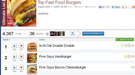 Double Double van In-N-Out de lekkerste hamburger