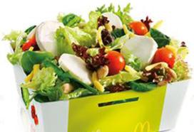Twee nieuwe salades op menu McDonald's