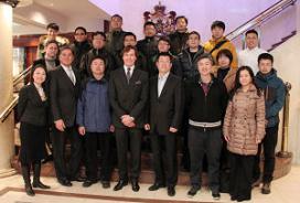Chinese delegatie geïnteresseerd in duurzaamheid Hotels van Oranje