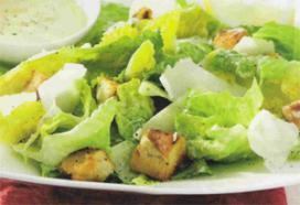 Sommatie Caesar Salad van de kaart is 1 aprilgrap