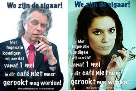 Kroeg bant asbak na 70.000 euro rookboetes