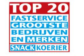 Nieuw in de Misset Horeca Top 100: De Fastservice Top 20