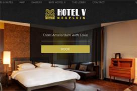 Hotel V opent tweede locatie in Amsterdam