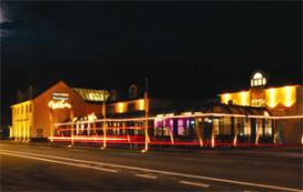 Hotel Restaurant Oud London kleurt oranje