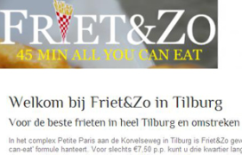 All you can eat' bij cafetaria Friet&Zo