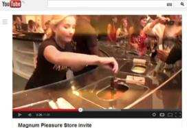 IJsmerk Magnum opent pop-up store in Amsterdam