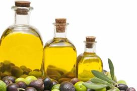 Verplicht etiket op olijfoliefles van de baan