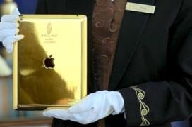Hotel biedt gast gouden iPad