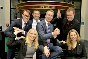 Innovatief team Pulitzer pakt Dutch Hotel Award 2013