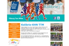 Met Kolibrie en KHN meedoen aan Tilburg Ten Miles