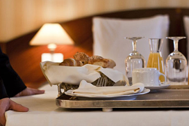 Terugloop roomservice hotels