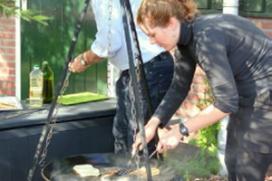Koken in de natuur bij Groot Warnsborn Arnhem