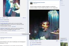 Restaurant zet filmpje eetpiraat op Facebook