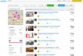 Airbnb Nederland: 1,4 miljoen overnachtingen in 2016