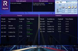 Live vluchtinformatie in Airport Hotel Rotterdam