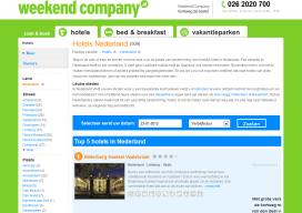Failliet WeekendCompany naar Hoteldeal Nederland