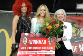 Nederlandse 'Voice' naar Europese finale McDonald's