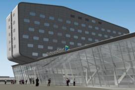 Primeur: Nederland heeft eerste hotel bovenop luchthaventerminal