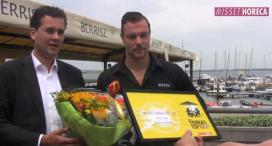 Terras Top 100-verrassingsbezoek aan Berrisz Stellendam