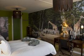 Dierentuinkamer in Hotel Haarhuis