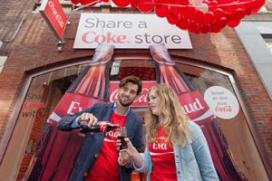 Coca Cola heeft tijdelijke pop-up store in Amsterdam