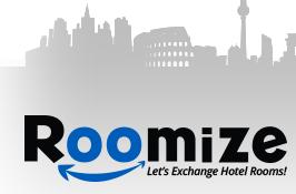 Hoteliers kunnen hotelkamers ruilen op Roomize