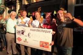 Geniet&Geef-bier: 55.000 euro voor KiKa