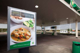 Kant en klare maaltijden bij tankstation BP