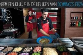 Domino's Pizza opent deuren