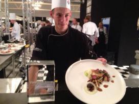 Bouke van der Veen wint kalfsvleesprijs
