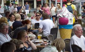 'Horeca gaat in 2014 groeien