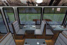 Eerste rijdend tramrestaurant naar Nederland