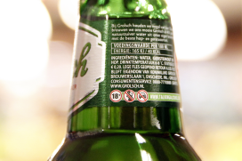 Grolsch waarschuwt voor alcohol