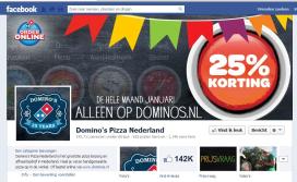Domino's Pizza viert 25 jaar Nederland met korting