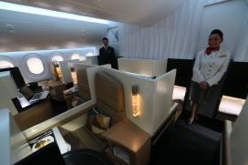 Nieuwe manier van reizen: privébed en butler in vliegtuig