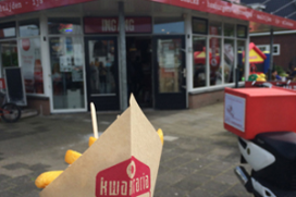 Gratis friet en 10 euro met Kwalitaria-foto