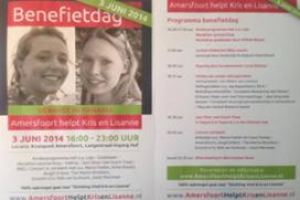 Actie horeca Amersfoort voor vermiste Kris en Lisanne