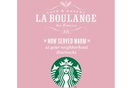 Starbucks stapt met La Boulange in hamburgerbranche